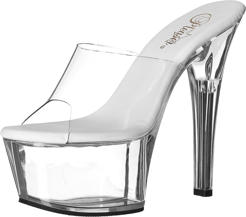 Pleaser Women's Aspire-601 c It is very popular Special price Sandal b Platform