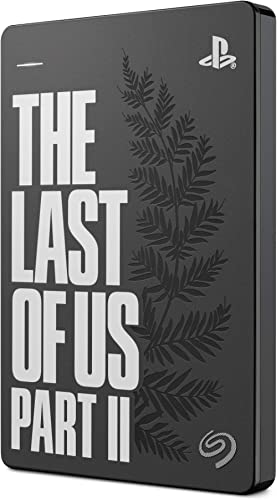 """Seagate Game Drive pour PS4, 2 To, The Last of Us II Special Edition, Disque Dur Externe Portable, 2,5"""", USB 3.0, com..."""