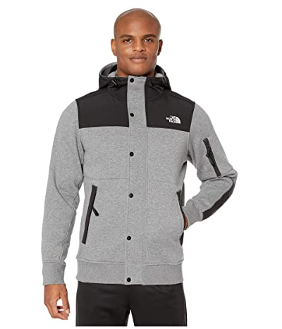 The North Face Highrail Fleece Jacket (TNF Medium Grey Heather) Men