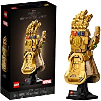 LEGO Marvel Infinity Gauntlet 76191 Collectible Building Kit; Thanos Right Hand Gauntlet Model with Infinity Stones (590...