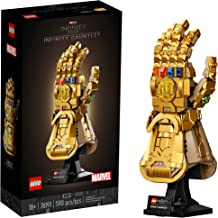 LEGO Marvel Infinity Gauntlet 76191 Collectible Building Kit; Thanos Right Hand Gauntlet Model with Infinity Stones (590 P...