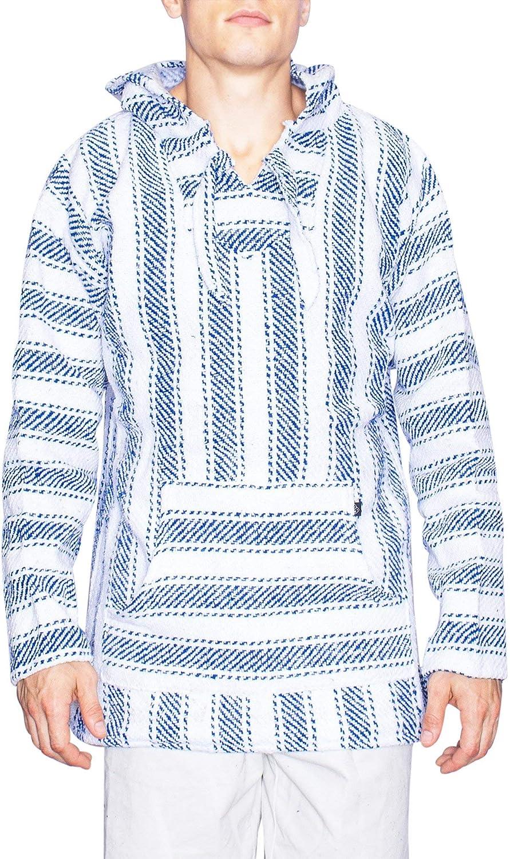 Brickline Baja Style 別倉庫からの配送 定番スタイル Mens Sweater Hoodie Fleece Poncho