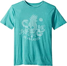 Lucky Brand Kids Short Sleeve Graphic Tee (Big Kids)