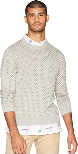 Tipping Geo Crew Sweater