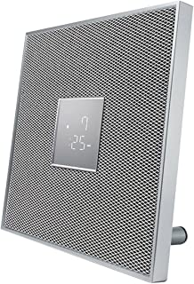 Yamaha ISX-80 MusicCast Bluetooth AirPlay Clock Radio 30W Speaker (White)