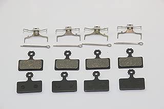 KINGSTOP JIM Bicycle 4 Pairs of New Bicycle disc Brake Pads for Shimano M985 M785 M675 M666 M615 M988 M987 M8000 M9000