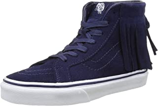 36743e9213724 Vans Sk8 Hi Moc Suede Skateboarding Shoes, Eclipse, 11.5 Little Kid
