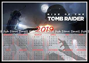 1 piece Rise of The Tomb Raider Game 2019 calendar poster Home Furnishing decorative white coated paper Wall Sticker Home Decora