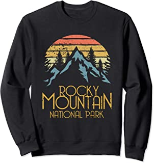 Vintage Rocky Mountains National Park Colorado Sweat Shirt