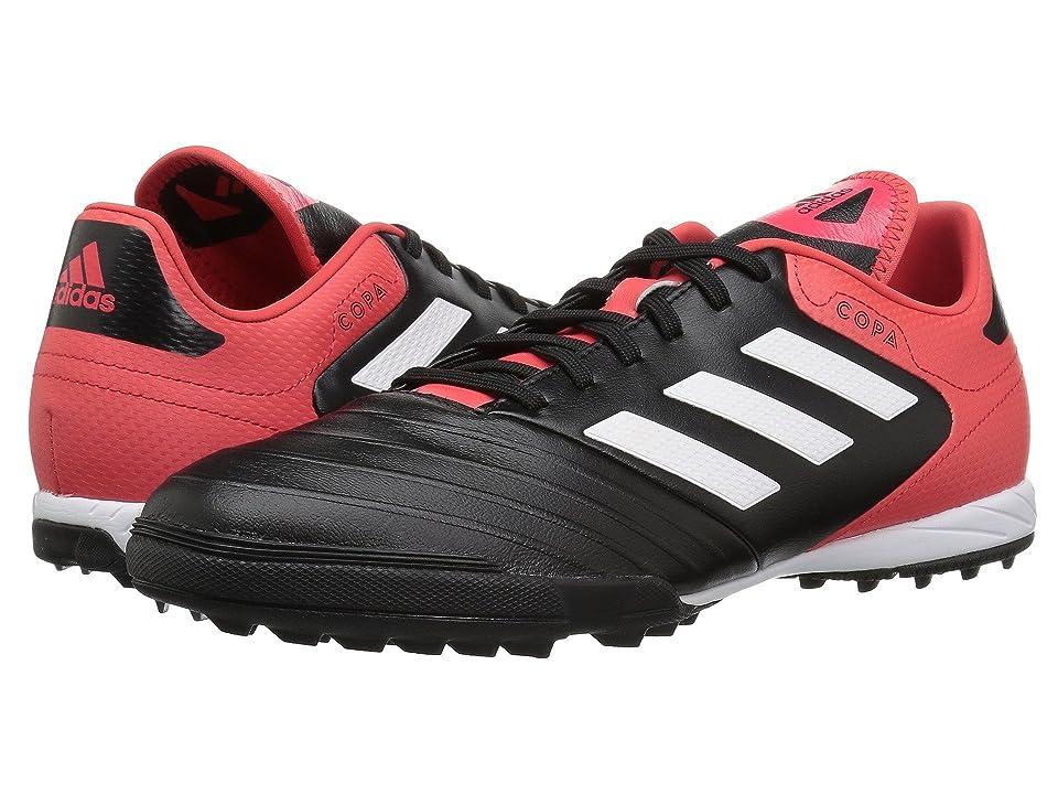 adidas Copa Tango 18.3 Turf (Black/White/Real Coral) Men