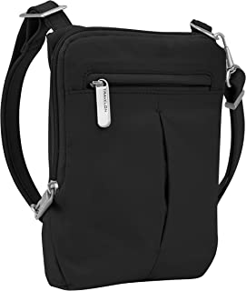Anti-Theft Classic Light Mini Crossbody Bag, Black