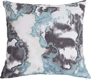 Kensie Kittery Decorative Pillows, Inserts & Covers, Steel-Grey-Blue-Frost