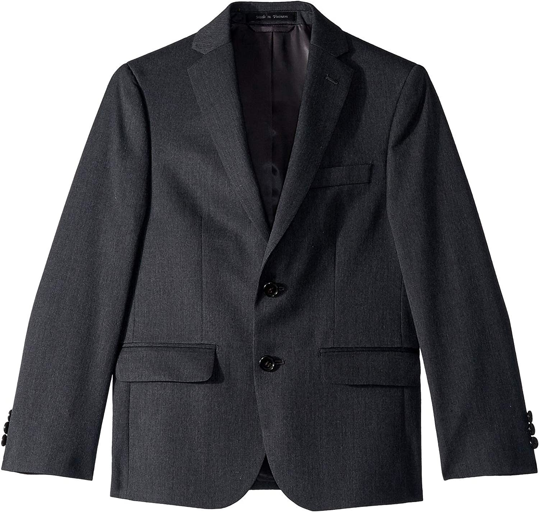 LAUREN RALPH LAUREN Boy's Classic Suit Separate Jacket (Big Kids) Grey 12 Big Kids