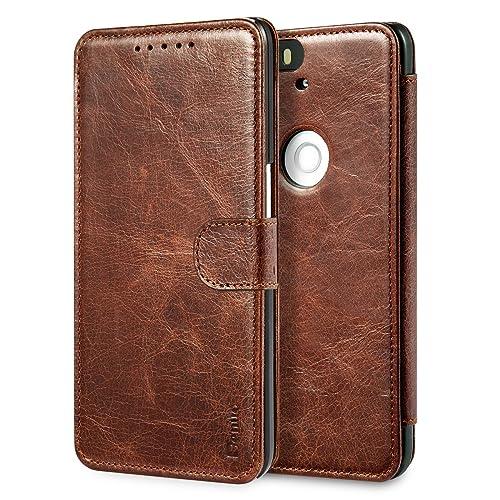 save off 56c95 6b0b9 Nexus 6p Case Leather: Amazon.com