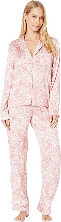 Pink/White Charmed Paisley