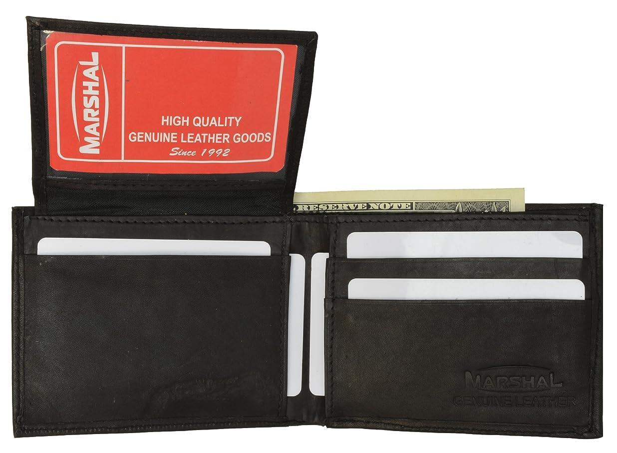 天文学形状公爵夫人レザー二つ折りメンズ財布ブラック# 578cf