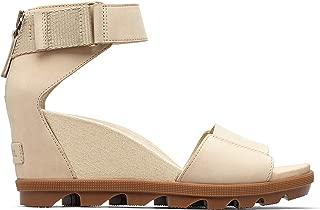 Sorel - Women's Joanie II Ankle Strap, Leather Sandal with Wedge Heel