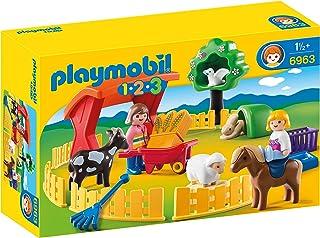comprar comparacion PLAYMOBIL 1.2.3 - 1.2.3 Recinto de Mascotas (6963)