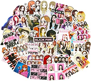 Blackpink Stickers Kpop Laptop Water Bottles Phone Car Skateboard Luggage Guitar Graffiti Decals 54pcs