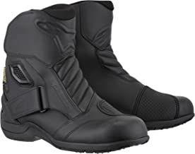 Alpinestars New Land Gore-Tex Men's Motorcycle Street Boots (Black, EU Size 41)