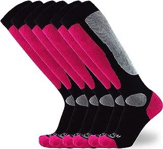 Pure Athlete Value Ski Socks for Men,  Women – Snowboarding,  Winter,  Cold Weather