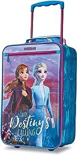 Kids' Disney Softside Upright Luggage, Frozen Destiny,...
