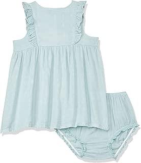 Petit Bamboo Muslin Dress, Blue Haze, 18-Months