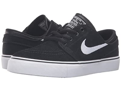 Nike Kids Stefan Janoski (Big Kid) (Black/Gum Medium Brown/White) Boys Shoes