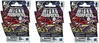 Power Rangers Micro Morphers Series 1 - Pack of Three