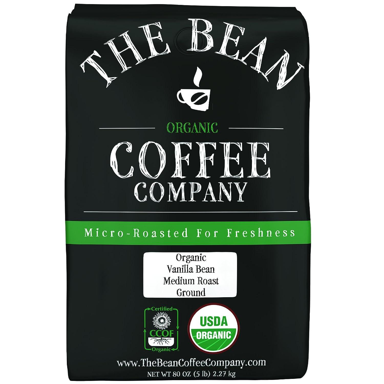 The Bean Coffee Mail order Company 2021new shipping free Organic Medium Grou Roast Vanilla