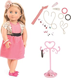 Our Generation BD31080 Audra Jewellery Doll, Various