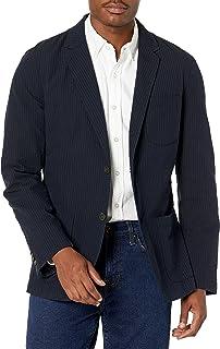 Men's Slim-fit Seersucker Blazer