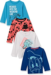 Spotted Zebra da bambino Disney Star Wars Marvel T-shirt a maniche lunghe