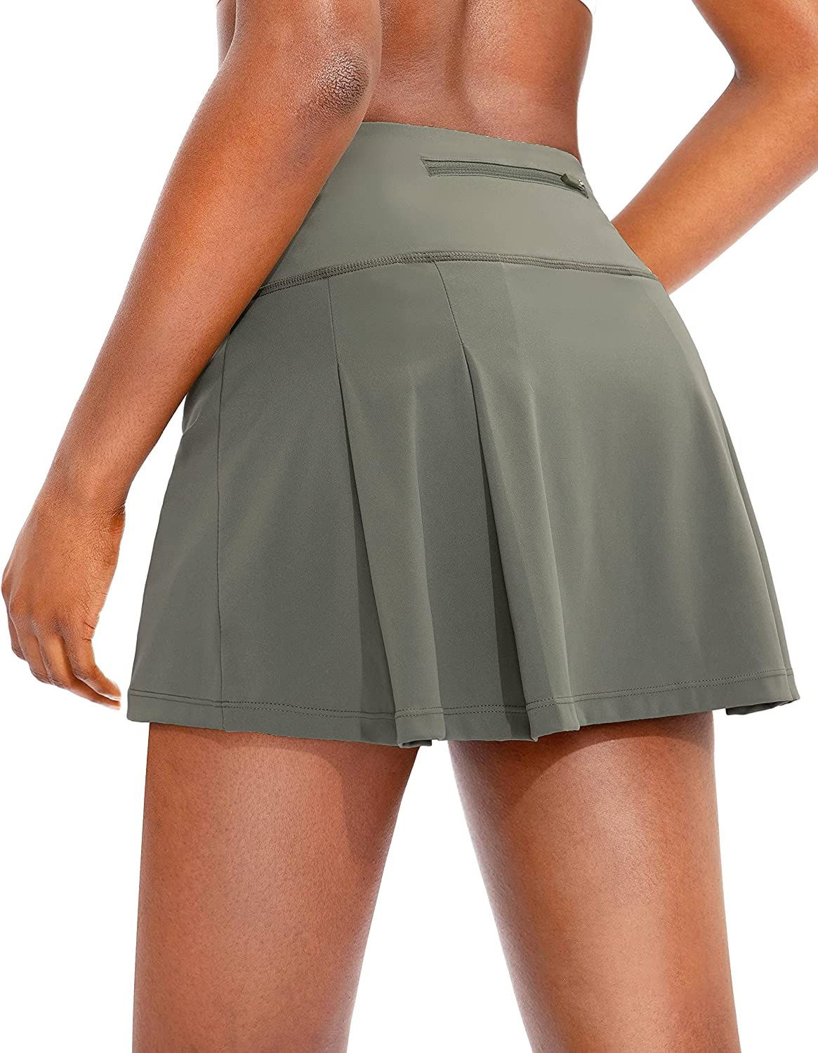 Soothfeel Pleated Tennis Skirt for Women Import Louisville-Jefferson County Mall Women's Hi Pockets with