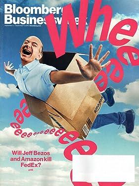 Bloomberg Businessweek Magazine September 5-11 2016 | Will Jeff Bezos & Amazon kill FedEx?