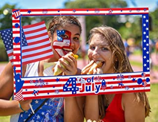happy 4th of july picture frame