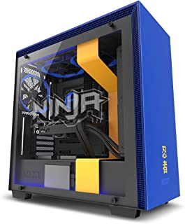 NZXT H700 - ATX Mid-Tower PC Gaming Case - Tempered Glass Panel - Enhanced Cable Management System – Water-Cooling Ready -...