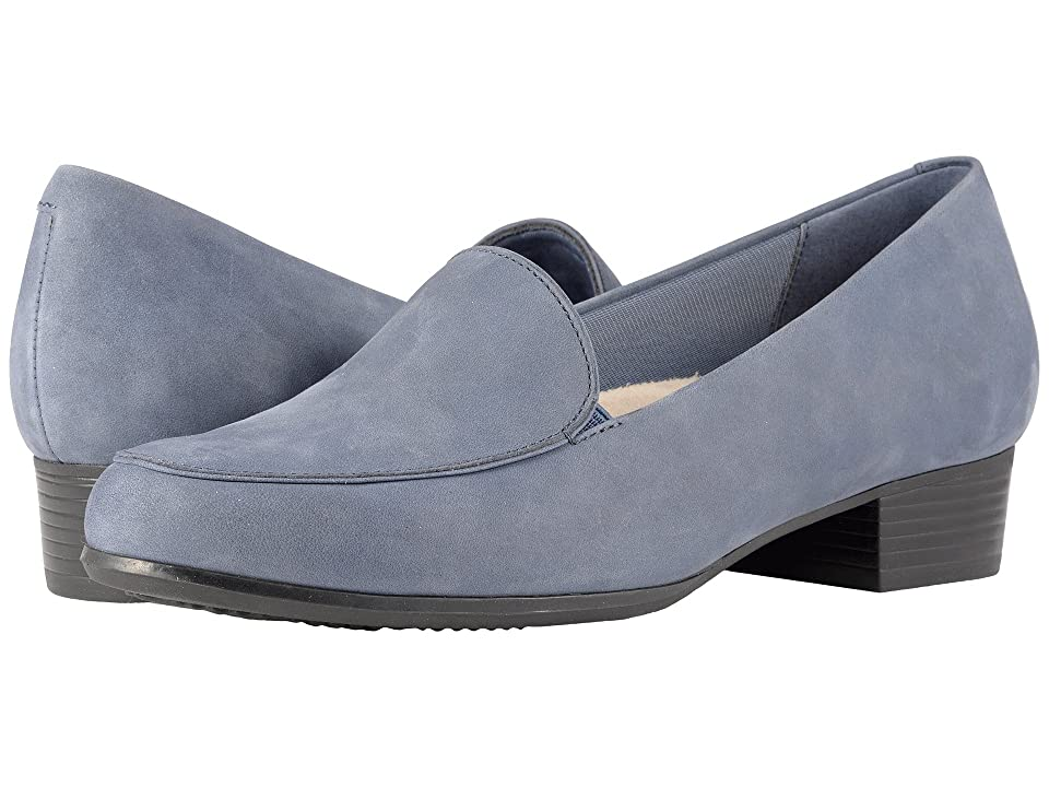 Trotters Monarch (Denim Jeans Nubuck Leather) Women