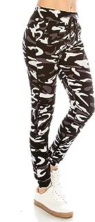 Women Drawstrings Jogger Sweatpants - Super Light Skinny Fit Premium Soft Stretch Pockets Pants