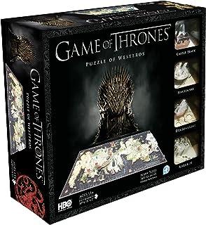 4D Cityscape, Game of Thrones, Rompecabezas de Poniente (Westeros), 1400 Piezas