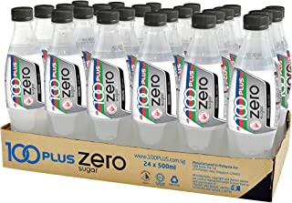 100 Plus Zero Isotonic Drink Pet, 500ml (Pack of 24)