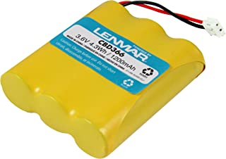 Lenmar Replacement Battery for Cordless Phones using 3.6V 1200mAh Nickel-Metal Hydride