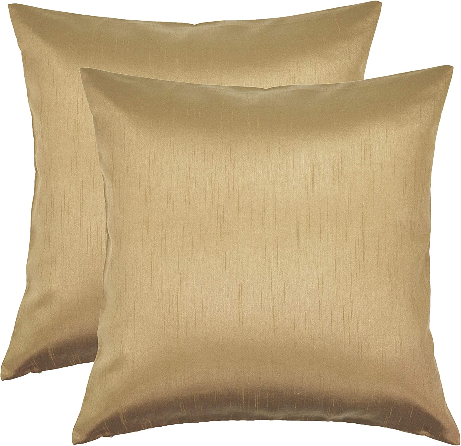 Now free shipping Aiking Home 18x18 Ranking TOP17 Inches Faux Silk Pillow Throw Cover Zi Square