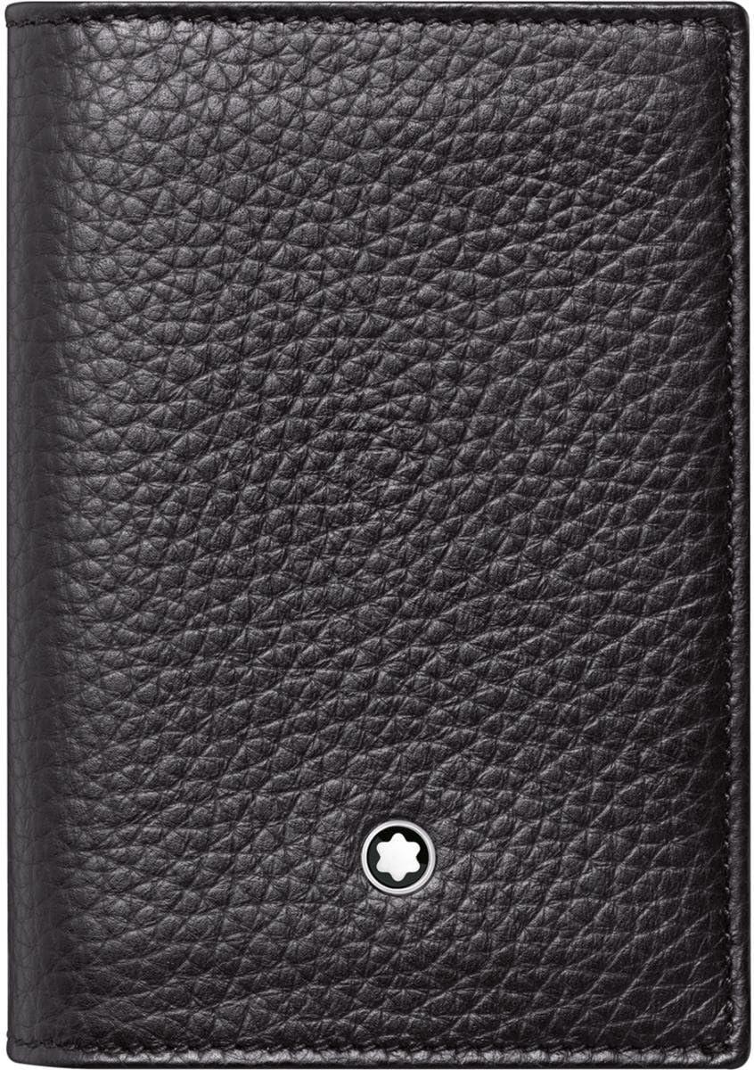 Montblanc Business Overseas favorite parallel import regular item Card Case - black 113310