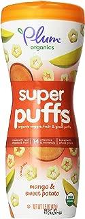 Plum Organics Super Puffs Orange - Mango & Sweet Potato