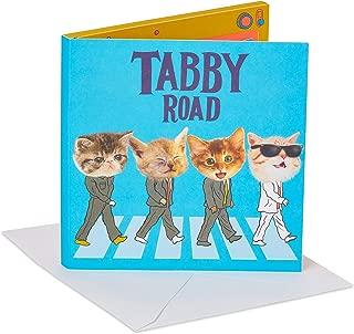 American Greetings Musical Birthday Card (The Beatles Tabby Road)
