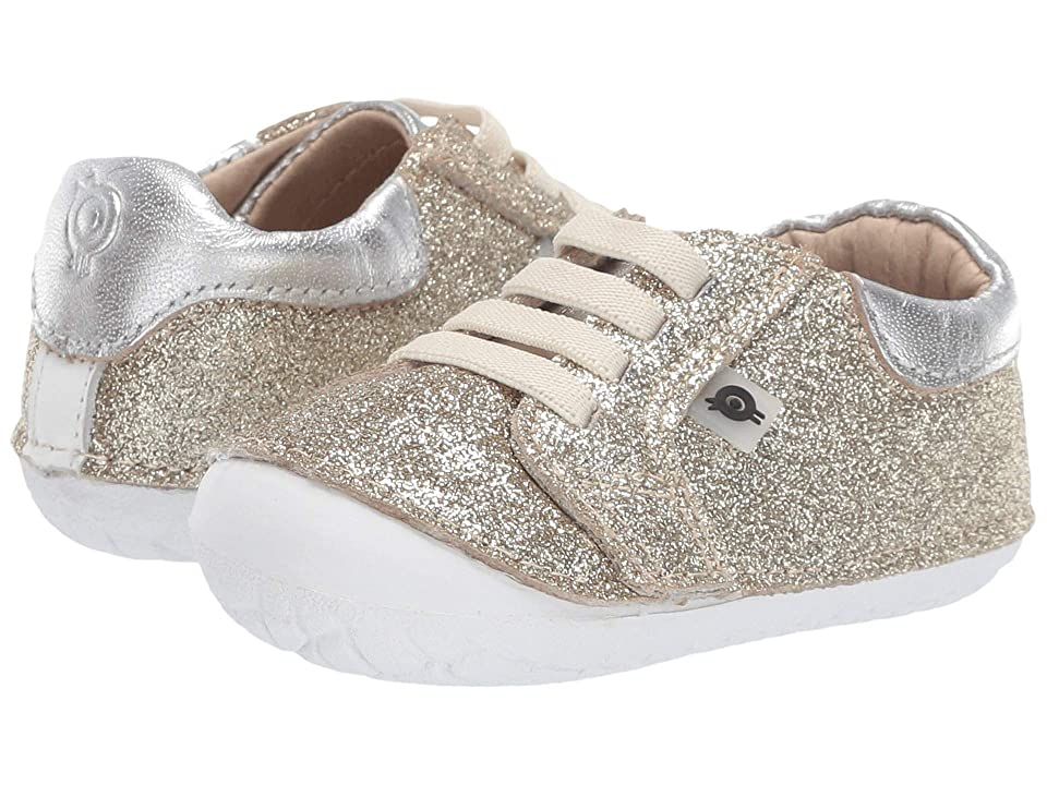 Old Soles Glamfull Pave (Infant/Toddler) (Glam Gold/Silver) Girl