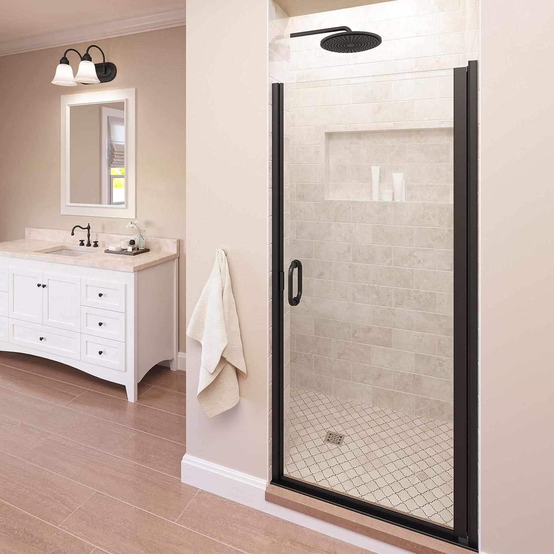 Basco Infinity 27- Over item handling ☆ 28 excellence in Shower Width Aqua Semi-Frameless Door