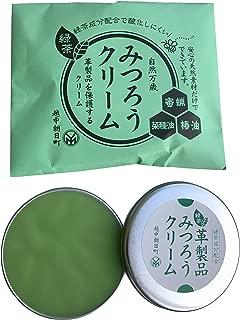 尾山製材株式会社 革製品用みつろうクリーム緑茶 40g