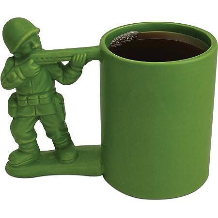 Big Mouth Toys ジョーク マグカップ (ソルジャー) 陶器 320ml BMTーBM1606